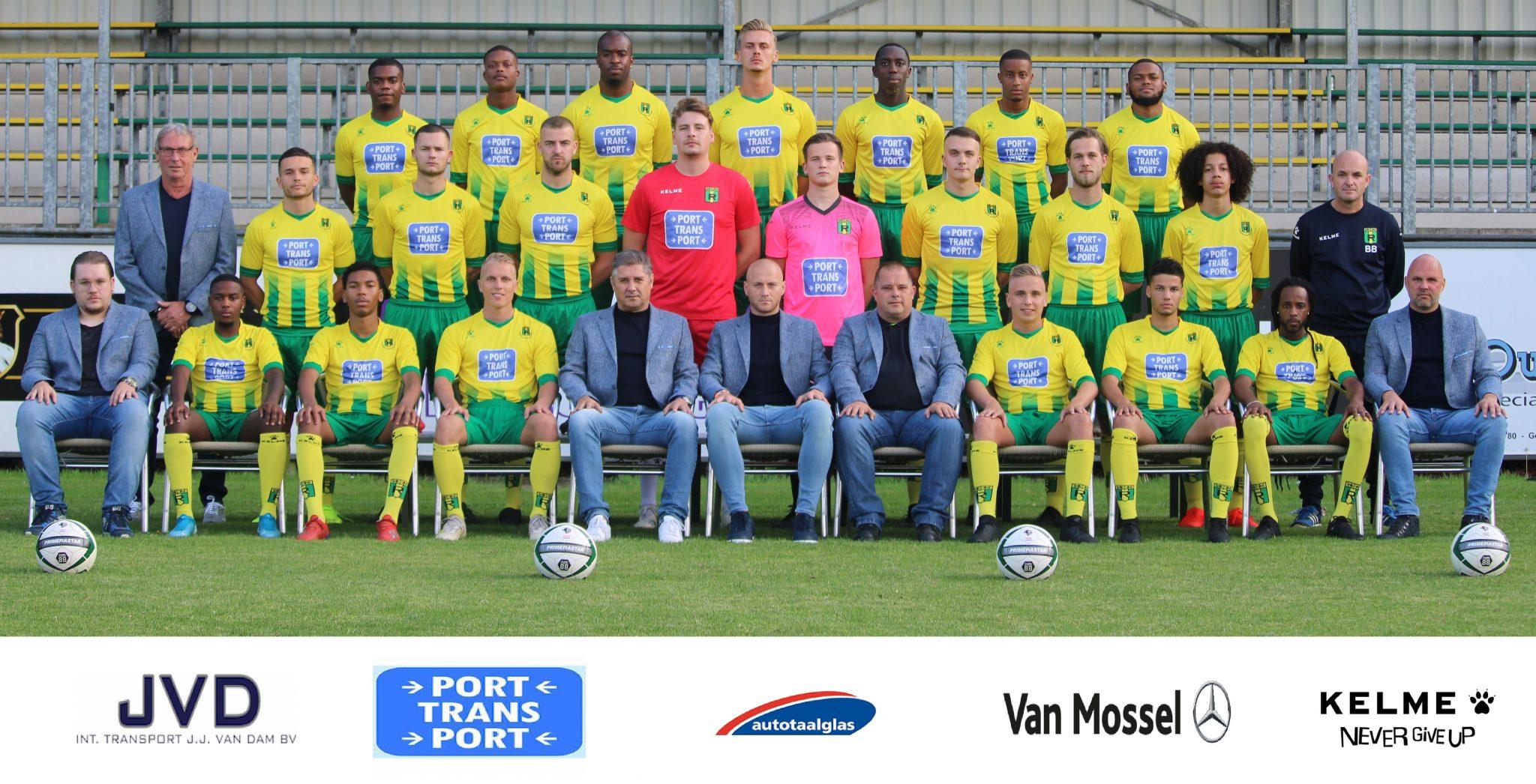 Rijnmond Hoogvliet Sport opent voorbereiding met gelijkspel